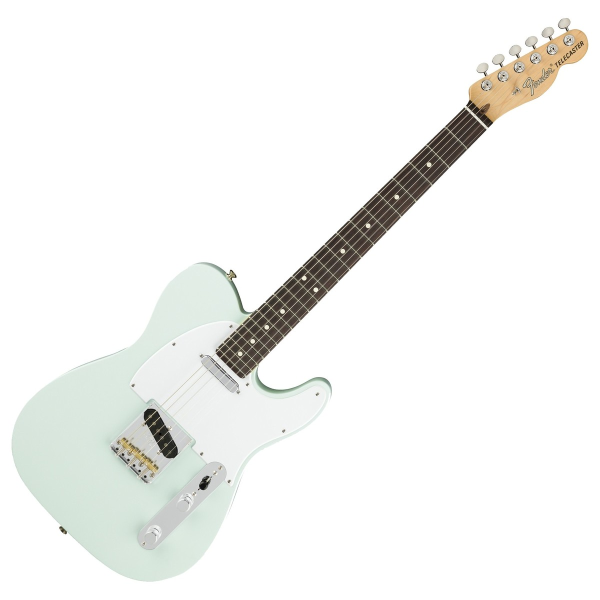 fender american performer telecaster rw satin sonic blue at gear4music. Black Bedroom Furniture Sets. Home Design Ideas