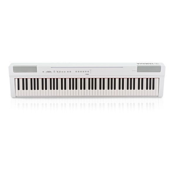 Yamaha P125 Digital Piano, White main