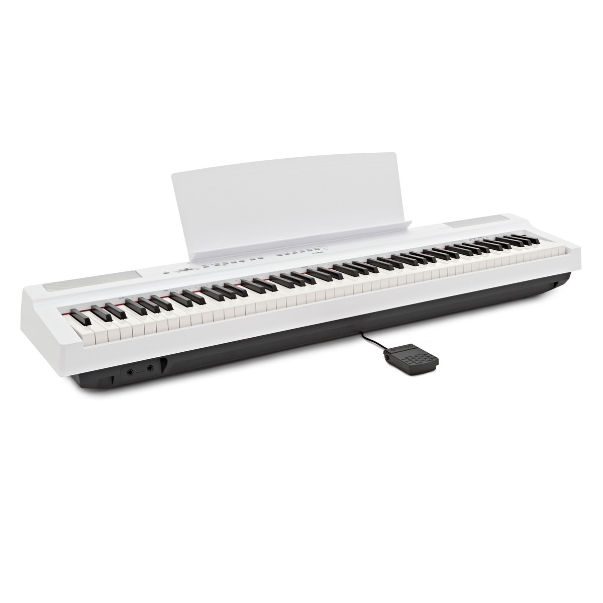 yamaha p125 digital piano white at gear4music. Black Bedroom Furniture Sets. Home Design Ideas