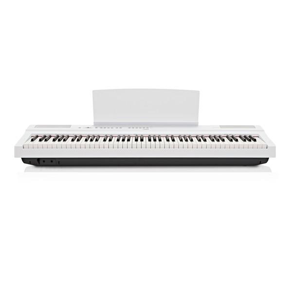 Yamaha P125 Digital Piano, White front