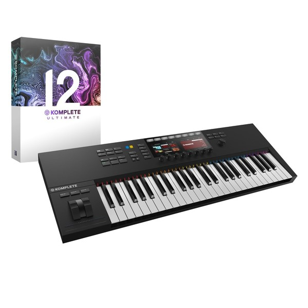 Native Instruments Komplete Kontrol S49 MK2 with Komplete 12 Ultimate