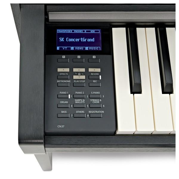 Kawai CN37 Digital Piano, Satin Black screen