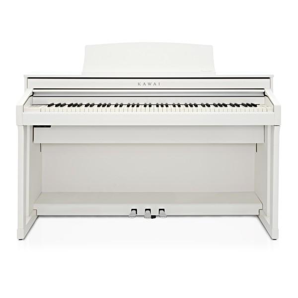Kawai CA58 Digital Piano, Satin White main