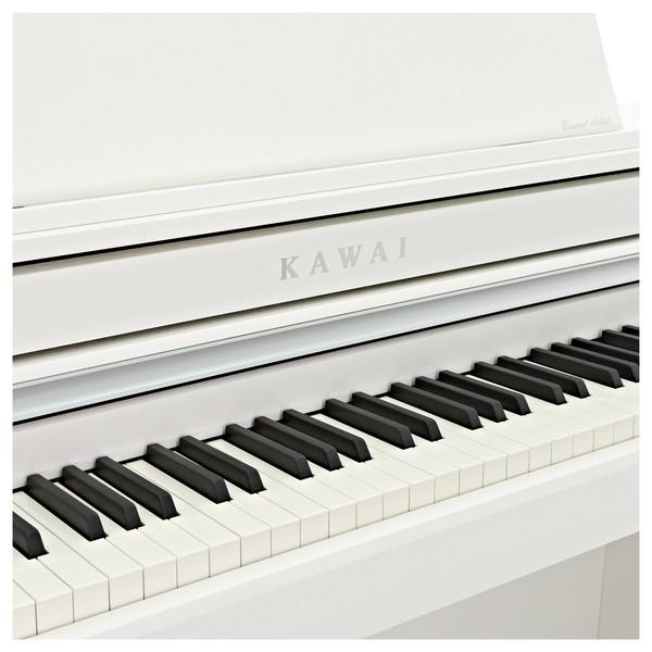 Kawai CA58 Digital Piano, Satin White logo