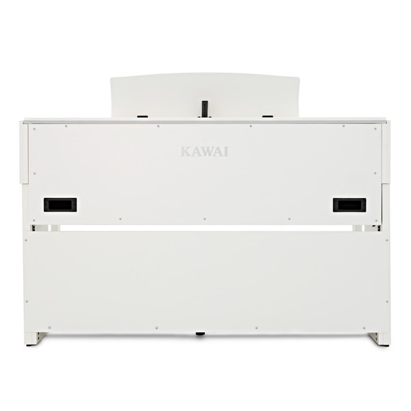 Kawai CA58 Digital Piano, Satin White back