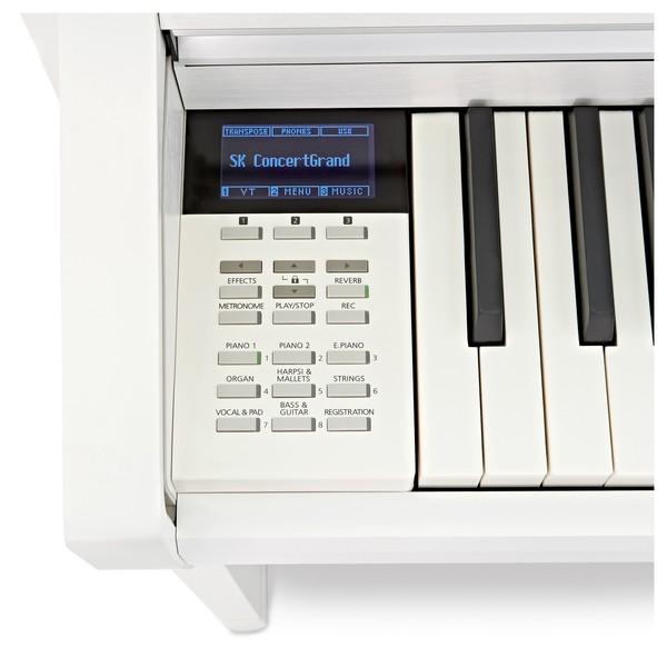 Kawai CA58 Digital Piano, Satin White screen