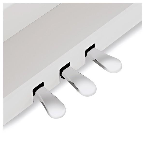 Kawai CA58 Digital Piano, Satin White pedals