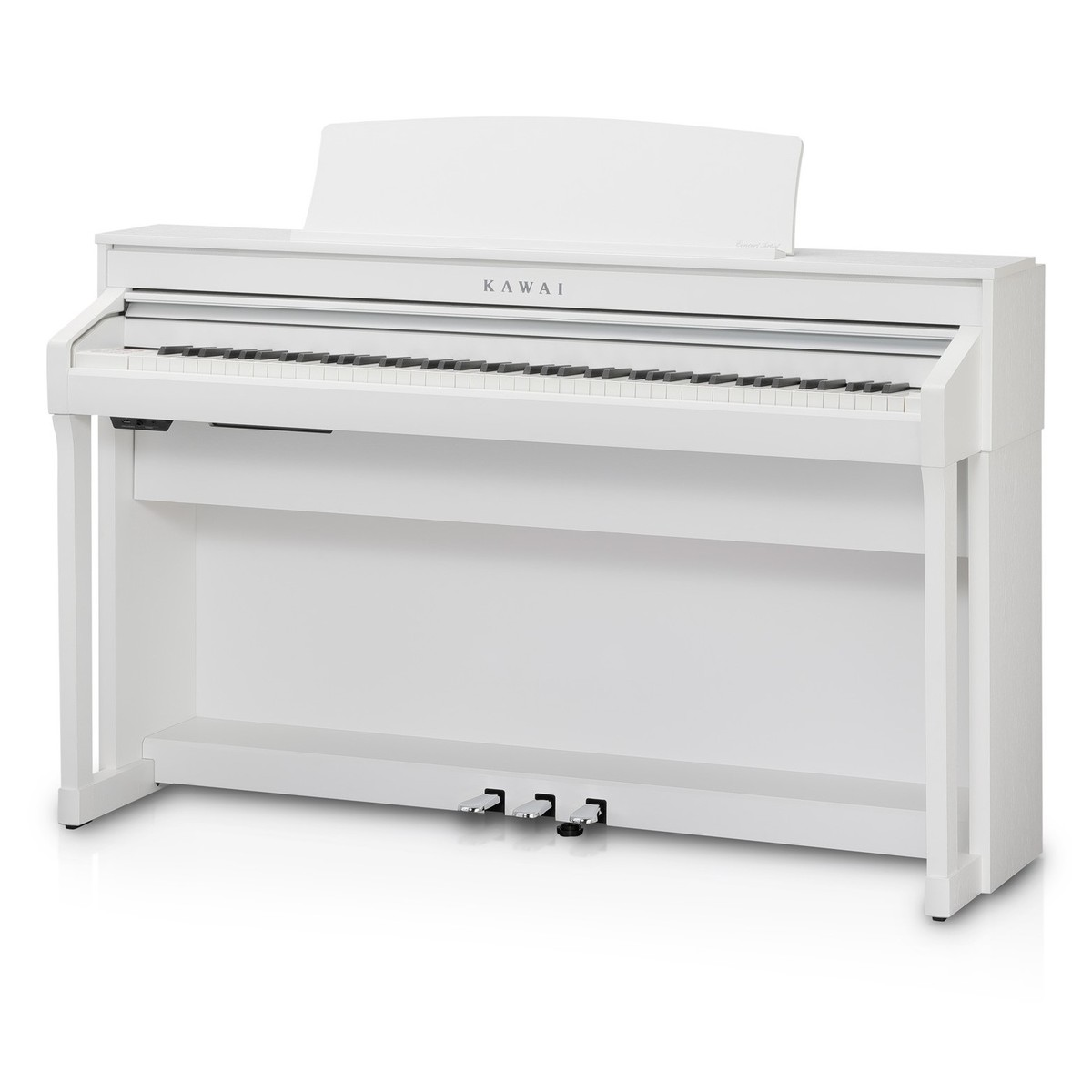 kawai ca58 digital piano satin white at gear4music. Black Bedroom Furniture Sets. Home Design Ideas