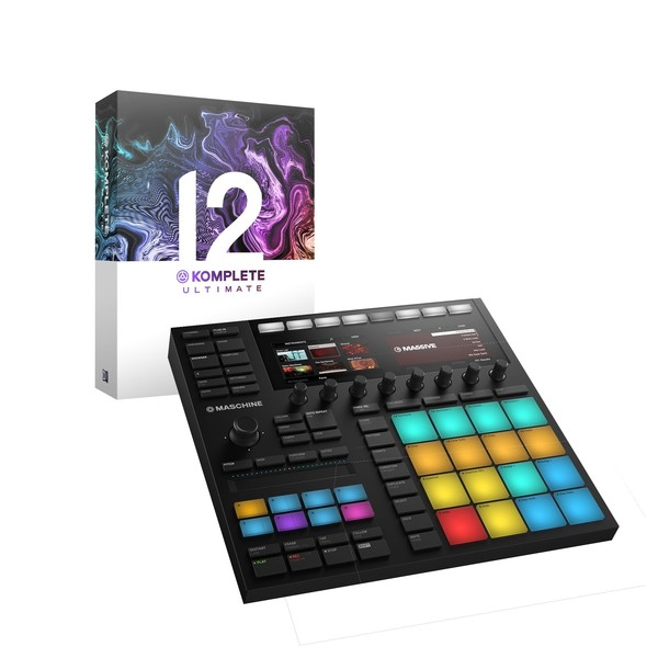 Native Instruments Maschine MK3 with Komplete 12 Ultimate MAIN