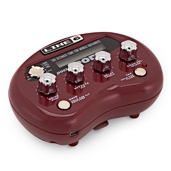 Line 6 Pocket POD Guitar Amp Processor angle