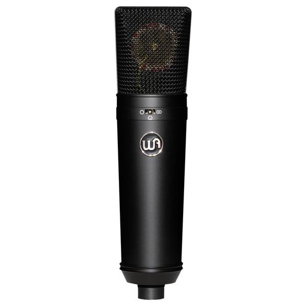 Warm Audio WA87 Condenser Microphone, LTD Black - Main