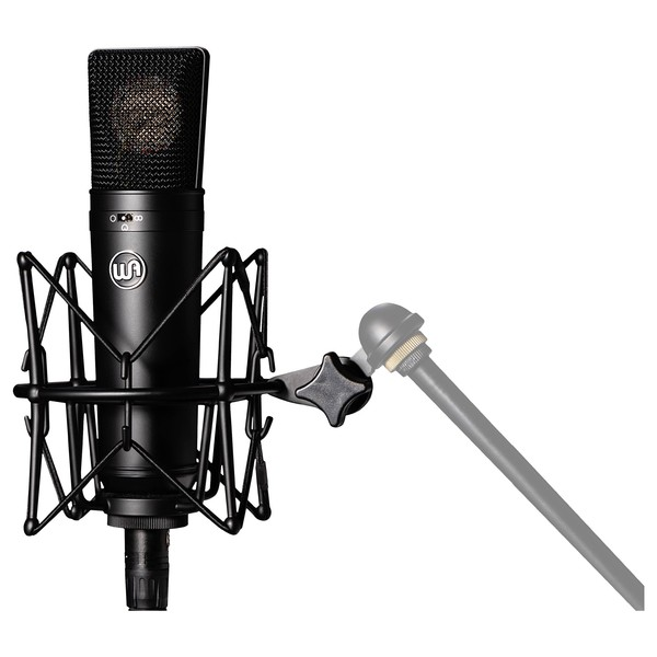 WA87 Condenser Microphone, LTD Black - On Stand (Mic Stand Not Included)