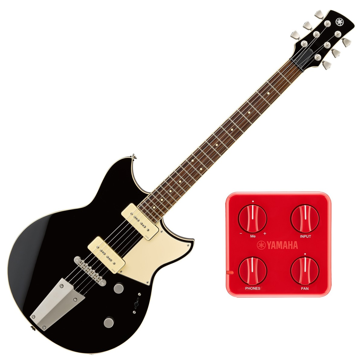 Yamaha Revstar Rs502t Black Free Gsc01 Session Cake At Gear4music 4 Pole 3 Way Switch Guitar
