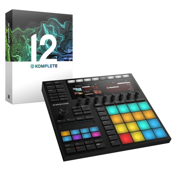 Native Instruments Maschine MK3 with Komplete 12 - Full Bundle
