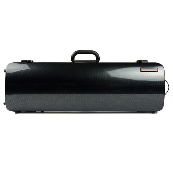 BAM 2001XL Hightech Oblong Violin Case, Black Carbon Look