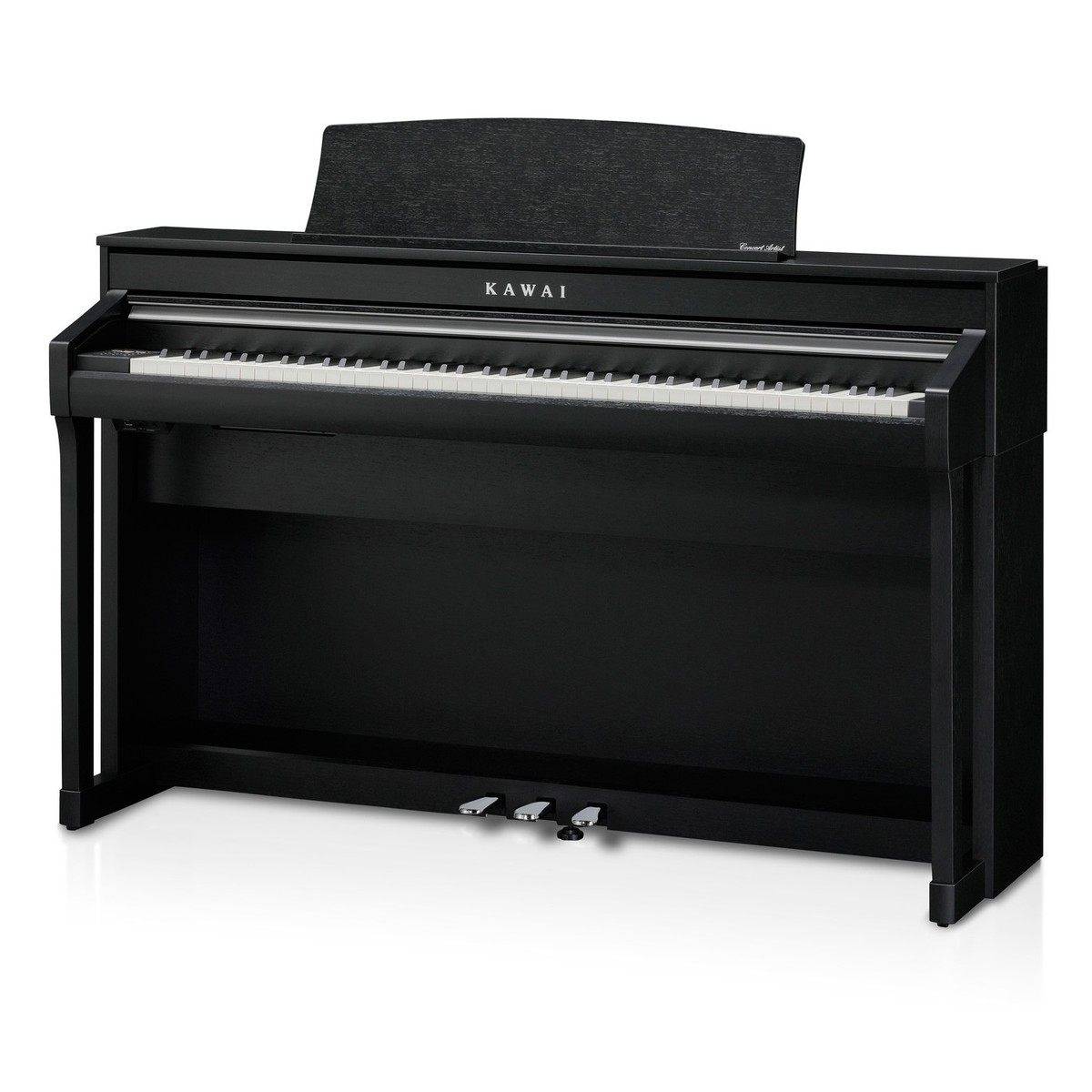 kawai ca58 digital piano satin black at gear4music. Black Bedroom Furniture Sets. Home Design Ideas