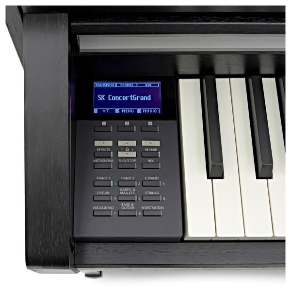 Kawai CA58 Digital Piano, Satin Black screen