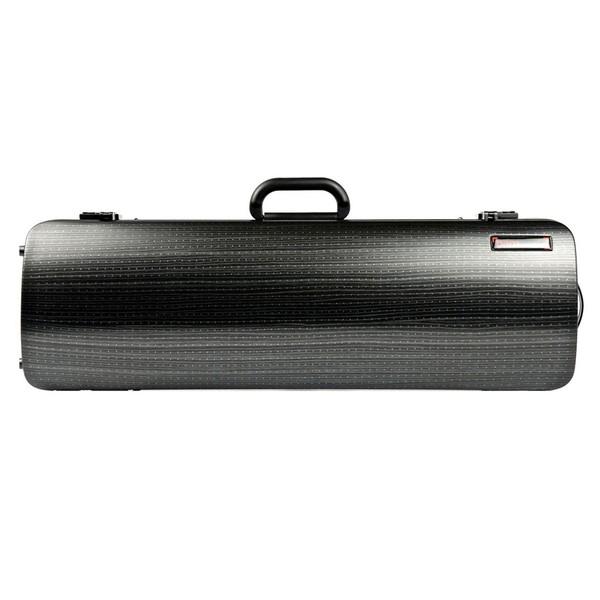 BAM 2001XL Hightech Oblong Violin Case, Black Lazure Look