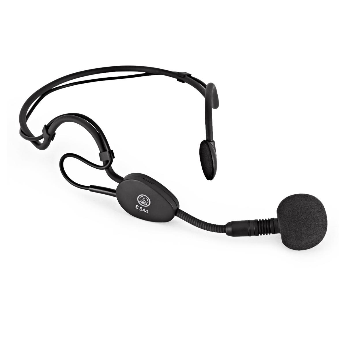 Awe Inspiring Akg C544 L Headworn Condenser Microphone Gear4Music Wiring 101 Capemaxxcnl