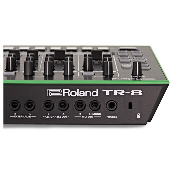 Roland AIRA TR-8 Rhythm Performer back close