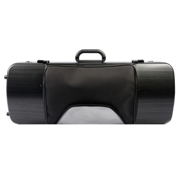 BAM 2202XL Hightech Oblong Viola Case, Pocket, Black Lazure