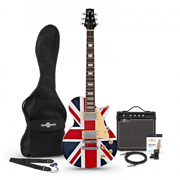 New Jersey Electric Guitar + Complete Pack, Union Jack