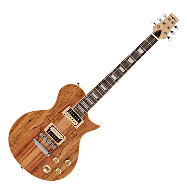 New Jersey Electric Guitar by Gear4music, Spalted Maple main
