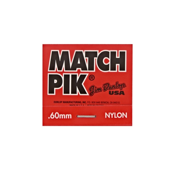 Jim Dunlop Match Pik .60mm
