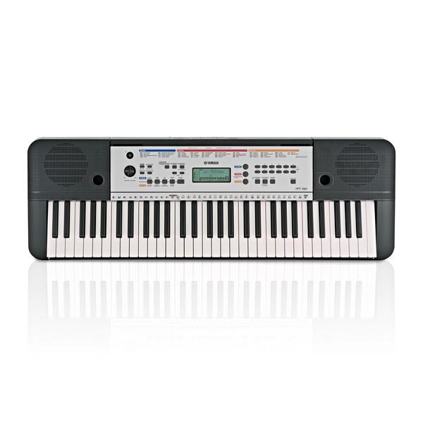 yamaha ypt 260 61 key portable keyboard at gear4music. Black Bedroom Furniture Sets. Home Design Ideas