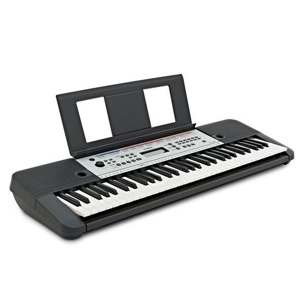 Yamaha YPT 260 61-Key Portable Keyboard angle