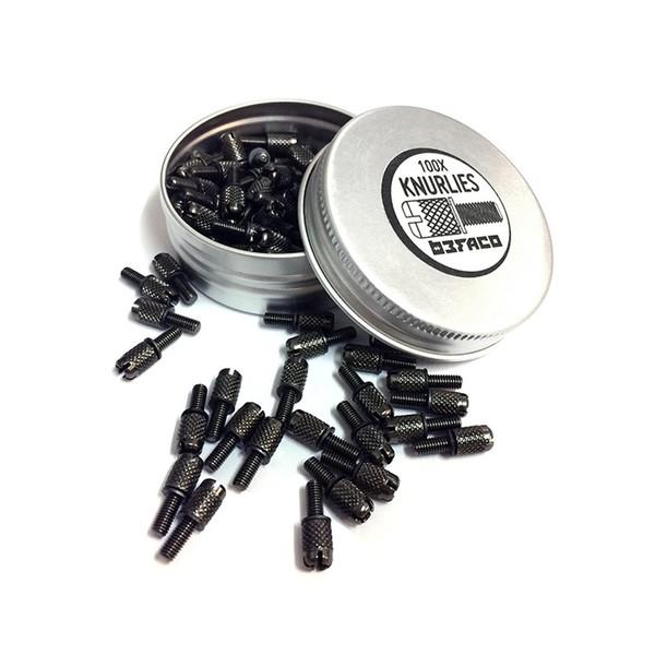 Befaco Knurlies Screws, M3, 100 pack - Main