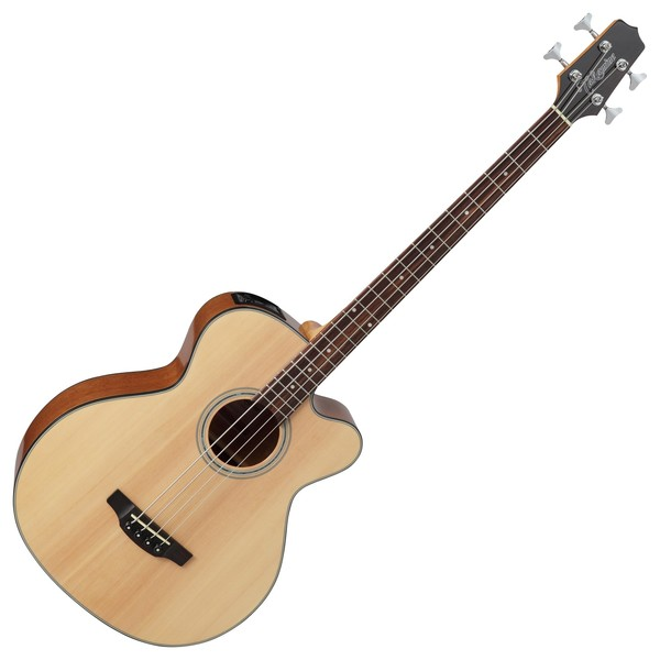 Takamine GB30CE Electro Acoustic Bass, Natural