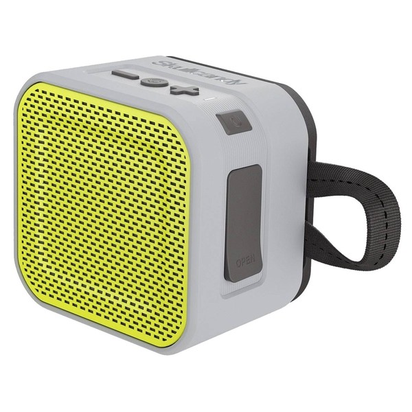 Skullcandy Barricade Mini BT Speaker Grey/Hot Lime - Main