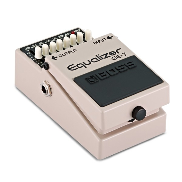 Boss GE-7 Equalizer Pedal angle