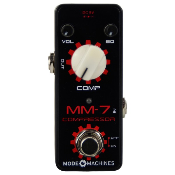 Mode Machines MM-7 Compressor Mini Guitar Pedal Main