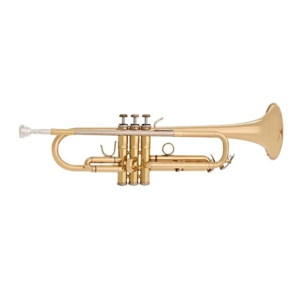 Musik & Instrumente Phantastische Trompete Bb gold lackiert für Anfänger mit Koffer Mundstück