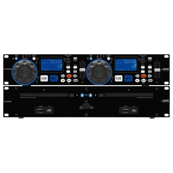 IMG Stageline Dual CD Player