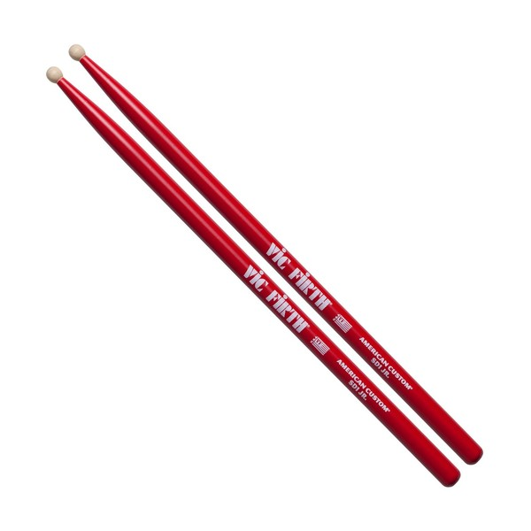 Vic Firth American Custom SD1 Junior Drumsticks, Wood Tip - Main Image