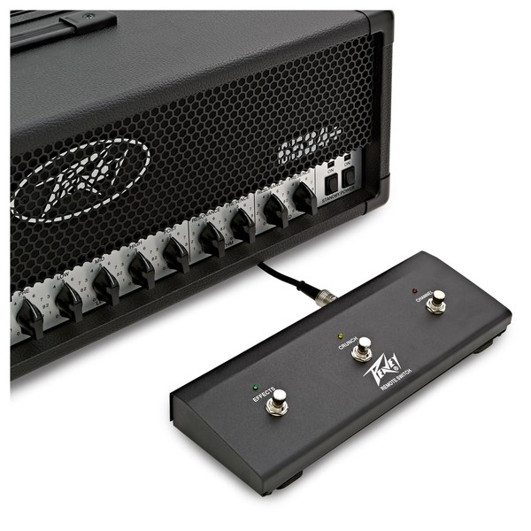 Peavey 6534 Plus 120 Watts Guitar Amp Head pedal