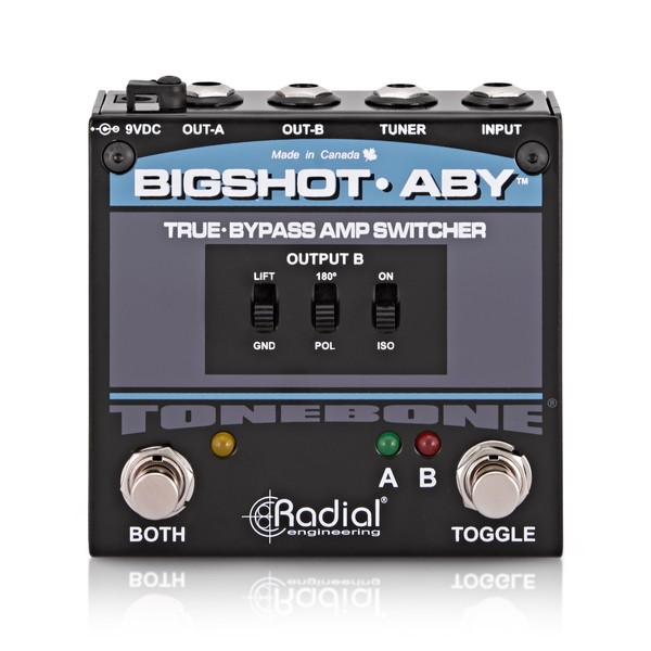 Radial Tonebone BigShot ABY True Bypass Switcher