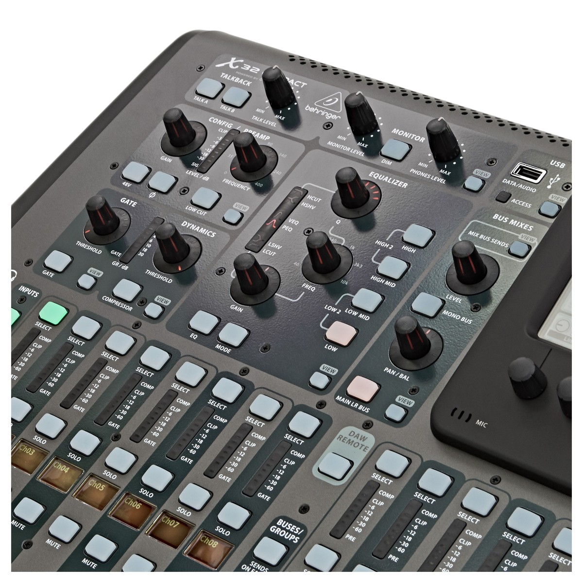 behringer x32 compact digital mixing console at gear4music. Black Bedroom Furniture Sets. Home Design Ideas