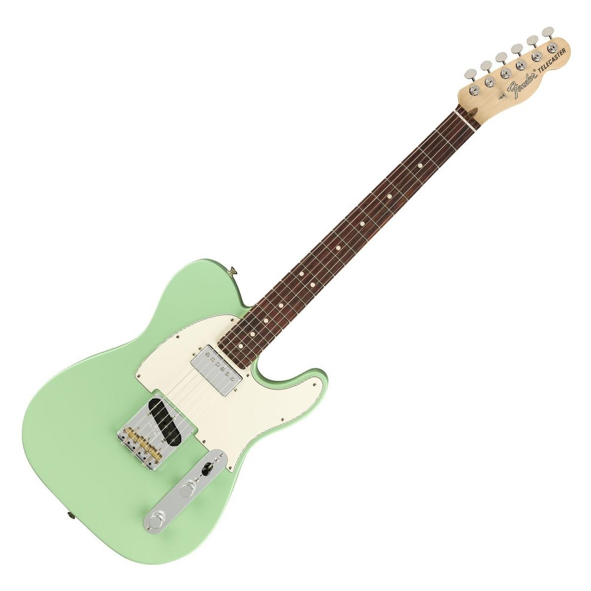 fender american performer telecaster hs rw satin surf green at gear4music. Black Bedroom Furniture Sets. Home Design Ideas