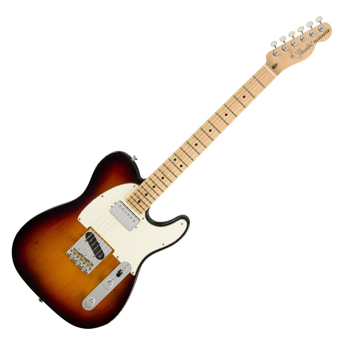 fender american performer telecaster hs mn 3 color sunburst at gear4music. Black Bedroom Furniture Sets. Home Design Ideas