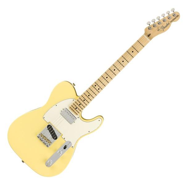 Fender American Performer Telecaster HS MN, Vintage White - Front
