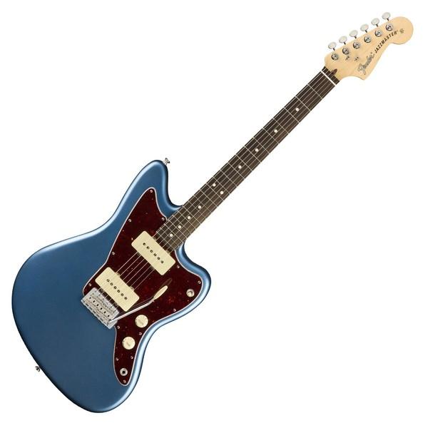 Fender American Performer Jazzmaster, Satin Lake Placid Blue - Main