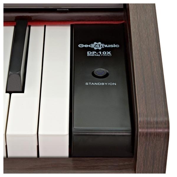 DP-10X Digital Piano by Gear4music, Dark RW close