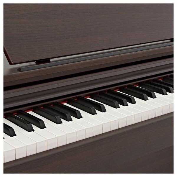 DP-10X Digital Piano by Gear4music, Dark RW close angle