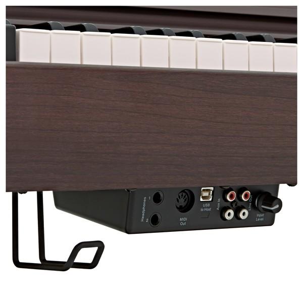 DP-10X Digital Piano by Gear4music, Dark RW ports