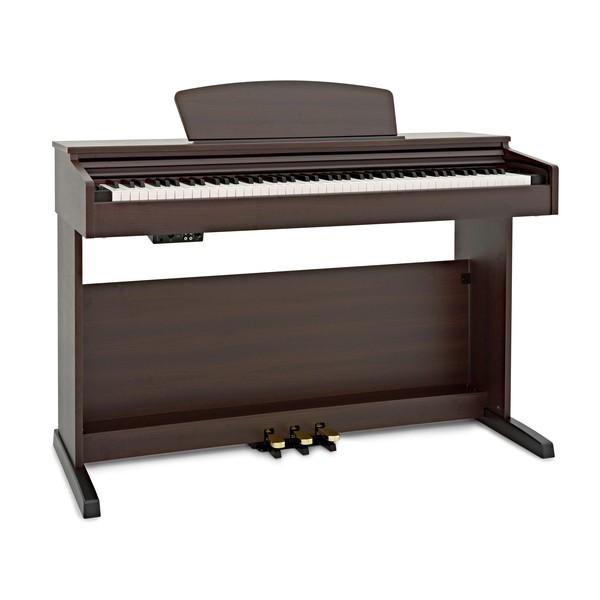 DP-10X Digital Piano by Gear4music, Dark RW angle