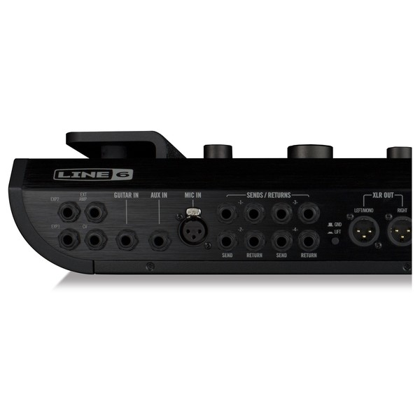 Line 6 Helix Multi-Effects Guitar Pedal  - inputs & outputs left